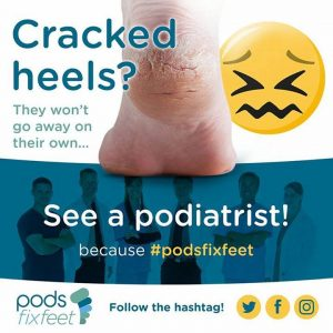 Advice for cracked heels