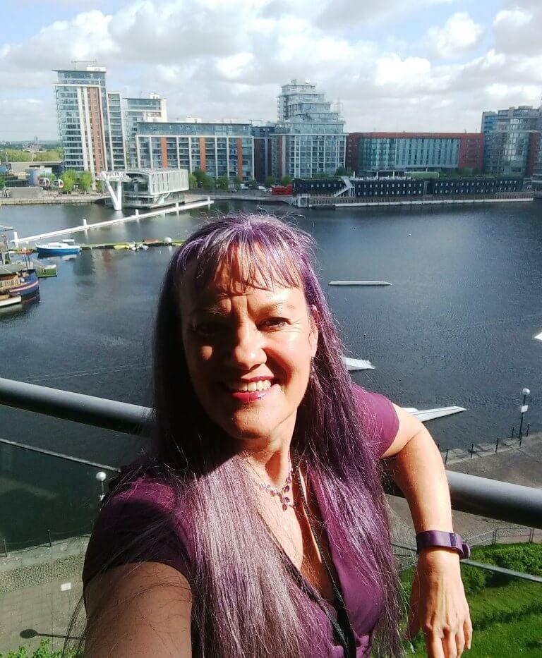 Potty Purple Pod Dianne Ashcroft
